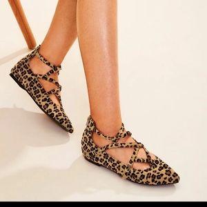 Shein leopard print flats